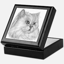 Persian Cat Keepsake Box