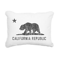 Vintage California Republic Rectangular Canvas Pil