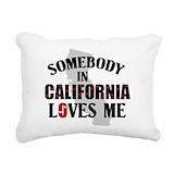 California Rectangle Canvas Pillows