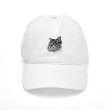 Maine Coon Cat Baseball Cap