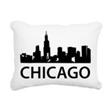 Chicago Rectangle Canvas Pillows