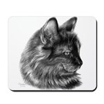 Tortoise Long-Hair Cat Mousepad