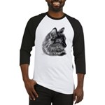 Tortoise Long-Hair Cat Baseball Jersey