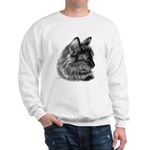 Tortoise Long-Hair Cat Sweatshirt
