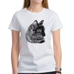 Tortoise Long-Hair Cat Women's T-Shirt