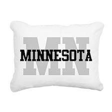MN Minnesota Rectangular Canvas Pillow