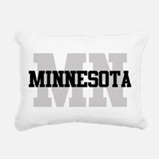 MN Minnesota Rectangular Canvas Pillow