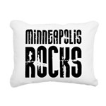 Minneapolis Rocks Rectangular Canvas Pillow