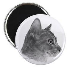 """Abysinnian Cat 2.25"""" Magnet (10 pack)"""
