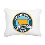 Montana Statehood Rectangular Canvas Pillow