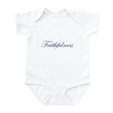 Faithfulness Infant Bodysuit
