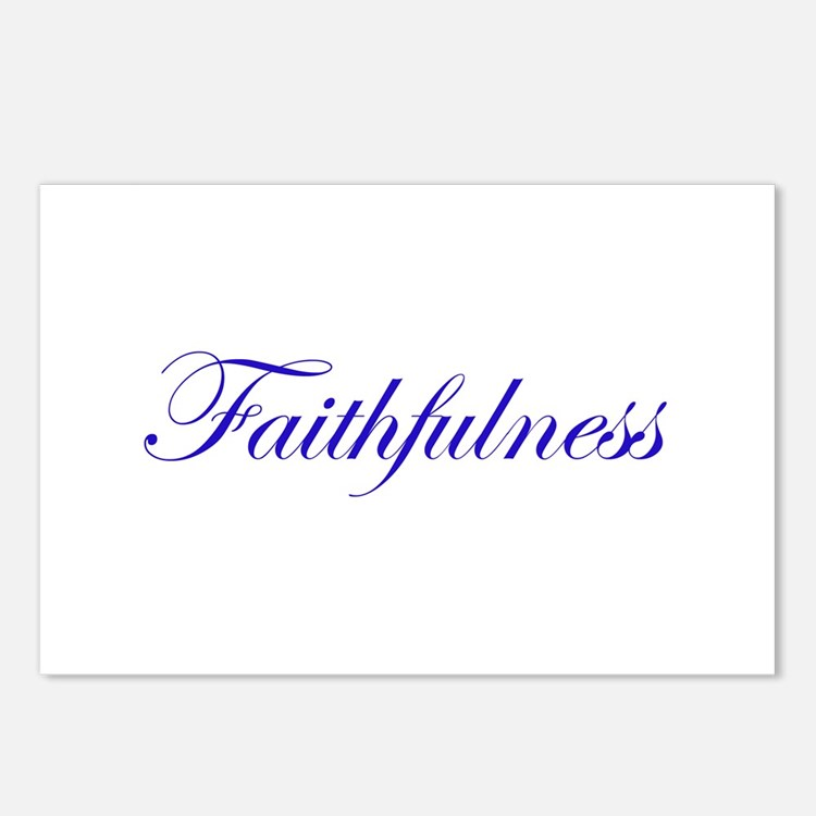 Faithfulness Postcards (Package of 8)