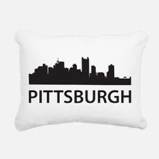Pittsburgh Skyline Rectangular Canvas Pillow