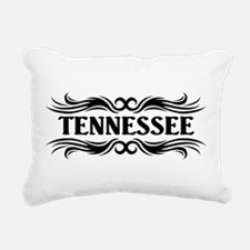 Tribal Tennessee Rectangular Canvas Pillow
