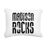 Madison Rocks Rectangular Canvas Pillow