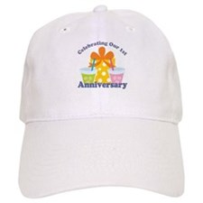 1st Anniversary Party Baseball Cap
