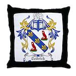 Todrick Coat of Arms Throw Pillow