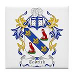 Todrick Coat of Arms Tile Coaster