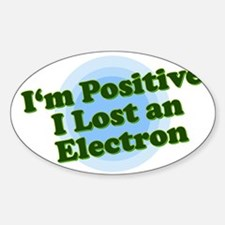 I'm Positive, I lost an elect Sticker (Rectangular
