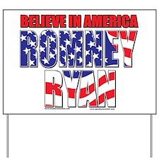 Romney and Ryan Yard Sign
