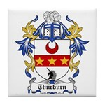 Thurburn Coat of Arms Tile Coaster