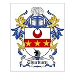 Thurburn Coat of Arms Small Poster