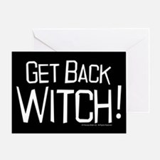 Get Back Witch Greeting Card