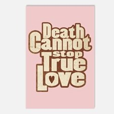 Death Cannot Stop Love Postcards (Package of 8)