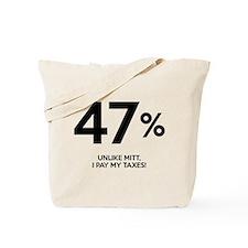 47% Tote Bag