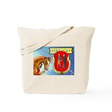 Vintage Kentucky Horse Seal Tote Bag