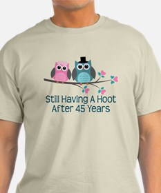45th Anniversay Owls T-Shirt