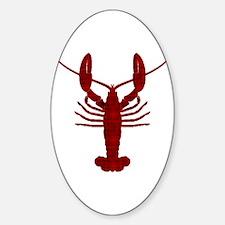 Lobster Sticker (Oval)