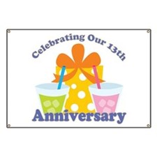 13th Anniversary Party Banner