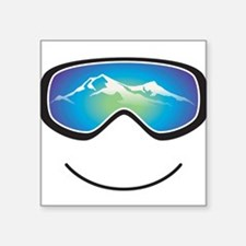 Happy Skier/Boarder Sticker