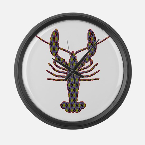 Lobster Large Wall Clock