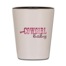 Cowgirl Baby Shot Glass