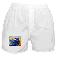 Buffalo, colorful art! Boxer Shorts