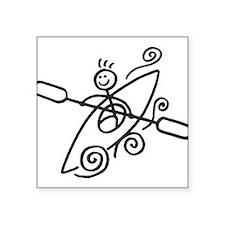 Happy Kayak Sticker