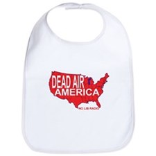 Dead Air America No Lib Radio Bib
