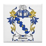 Thores Coat of Arms Tile Coaster