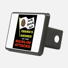 OBAMA SURRENDERS Hitch Cover