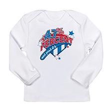 47 percent Long Sleeve Infant T-Shirt