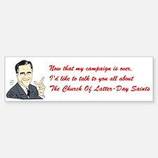 Anti-Romney Bumper Bumper Sticker