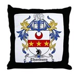 Thorburn Coat of Arms Throw Pillow