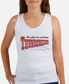 Watching Thunderbirds Women's Tank Top