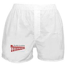 Watching Thunderbirds Boxer Shorts