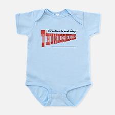 Watching Thunderbirds Infant Bodysuit