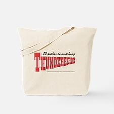 Watching Thunderbirds Tote Bag