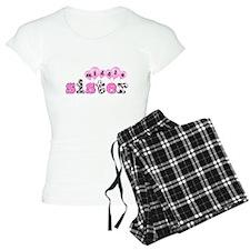 middle sister balloon decor pajamas