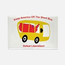 Keep America Off The Short Bu Rectangle Magnet